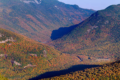 Photograph - Crawford Notch Autumn Brilliance by Jeff Sinon