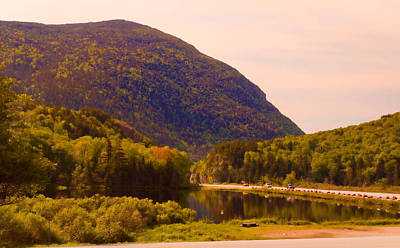 Crawford Notch Homage To Thomas Cole Art Print