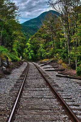 Photograph - Crawford Notch Train Station by Brenda Jacobs