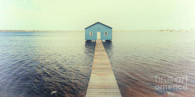 Photograph - Crawley Edge Boatshed by Yew Kwang