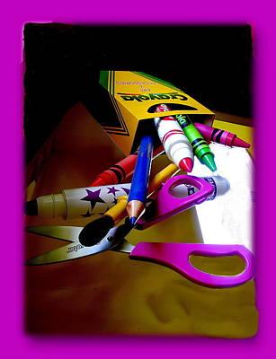 Crayola Factory Easton Pa Art Print by Jacqueline M Lewis