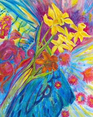 Painting - Crazy Abundance by Denise Hoag
