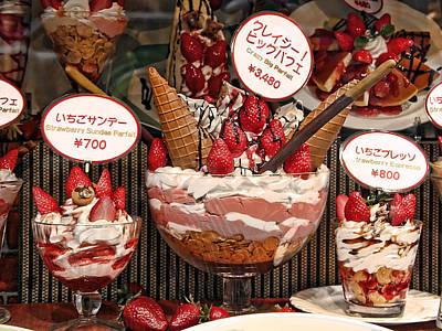 Strawberry Sundae Photograph - Crazy Big Parfait by Daniel Hagerman
