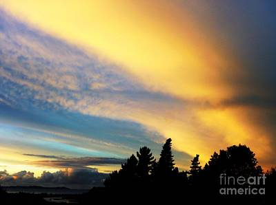 Photograph - Crazy Chem Cloud Sky by Dianne Connolly