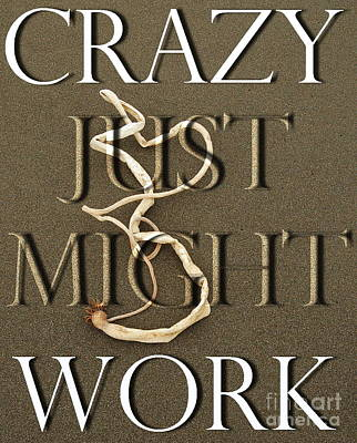 Photograph - Crazy Just Might Work by Tamyra Crossley