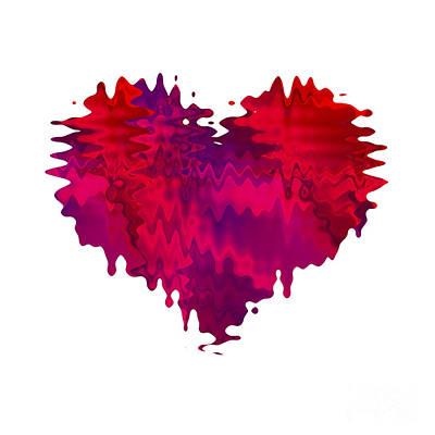 Digital Art - Crazy Love 1 by Kristi Kruse