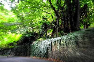 Photograph - Crazy Speed Of Life. Reload by Jenny Rainbow