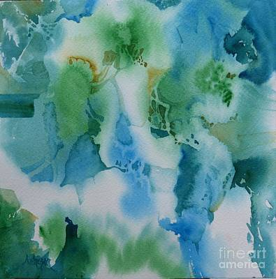 Painting - Cream by Donna Acheson-Juillet