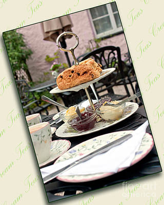 Photograph - Cream Tea by Terri Waters