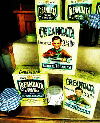 Creamoata - Cream  O' The Oat Art Print by Steve Taylor