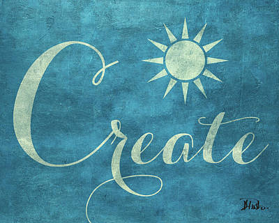 Believe Digital Art - Create Believe I by Patricia Pinto
