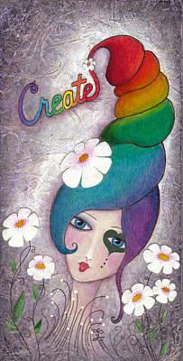 Create Art Print by Joann Loftus