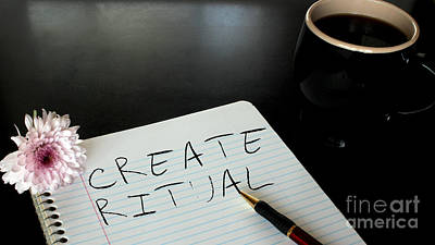 Photograph - Create Ritual by Arizona  Lowe