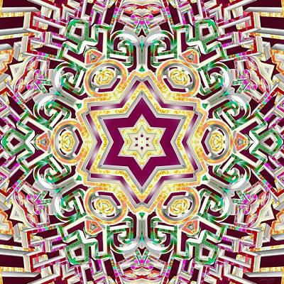 Digital Art - Created With Light by Derek Gedney