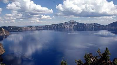 Photograph - Creater Lake - Oregon by Michael Davis