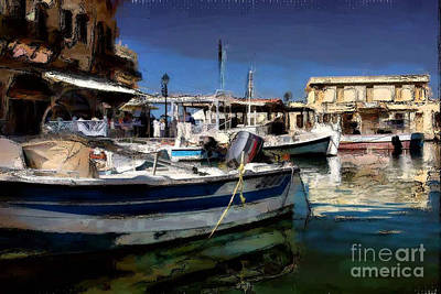 Photograph - Creatian Harbor by Tom Griffithe