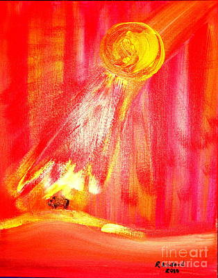 Painting - Creation And Warmth Of The Son 1 by Richard W Linford