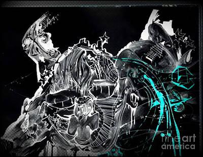Abstract Digital Drawing - Creation by Daniel Brummitt