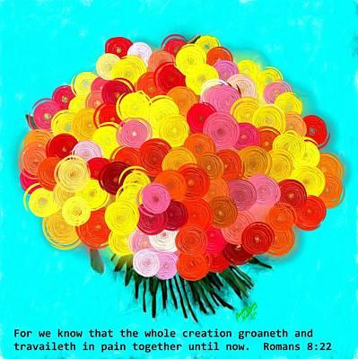 Creation Groaneth Art Print