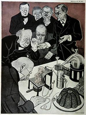 Alchemist Photograph - Creation Of An Homunculus by Cci Archives
