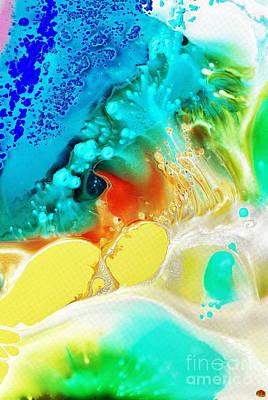 Creation Wave Art Print