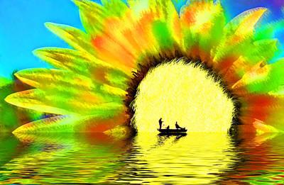 Indefinite Digital Art - Creative Boating by Glenn McGloughlin