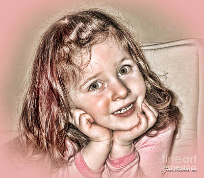 Photograph - Creative Portrait Sample In Hdr by Joan  Minchak