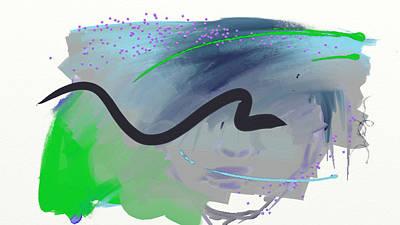 Painting - Creative Thinking by Deborah Lee