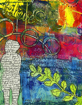 Mixed Media - Creativity Is The Best Therapy by Angela L Walker