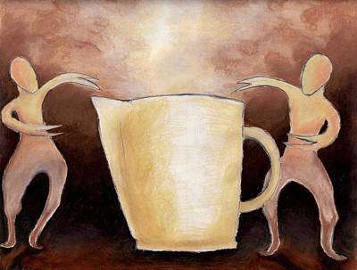 Creator Of The Coffee Art Print