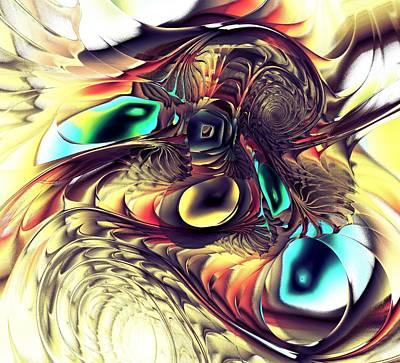 Monster Digital Art - Creature by Anastasiya Malakhova