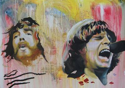Painting - Creedence Clearwater Revival by Matt Burke