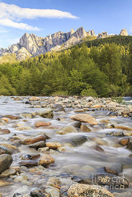 Castella Photograph - Creek And Castle Crags by Ken Brown