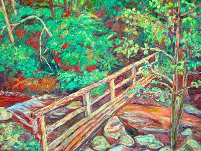 Painting - Creek Bridge by Kendall Kessler