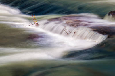 Photograph - Creek In Color by James Barber