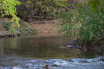 Photograph - Creeks Elbow by William Norton