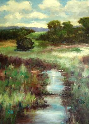 Painting - Creekside Morning by Sharon Franke