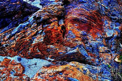 Photograph - Creekside Mural by Third Eye Perspectives Photographic Fine Art