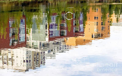Art Print featuring the photograph Creekside Reflections by Kate Brown