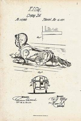 Doll Photograph - Creeping Doll Patent by Us Patent And Trademark Office