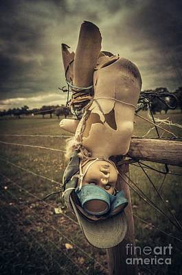 Freaky Photograph - Creepy Broken Doll by Carlos Caetano