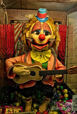 Photograph - Creepy Clown by Doc Braham