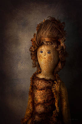 Creepy - Doll - Matilda Print by Mike Savad