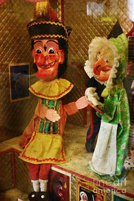Photograph - Creepy Punch And Judy by Doc Braham