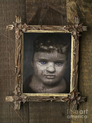 Photograph - Creepy Relative by Edward Fielding