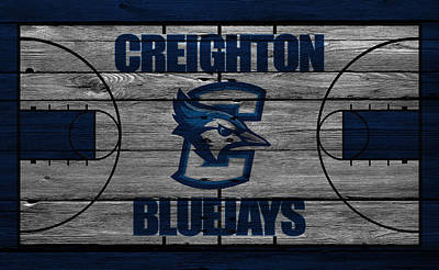 Creighton Bluejays Art Print