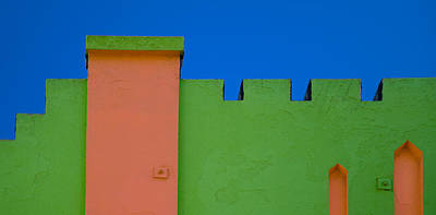 Photograph - Crenellated Roof by David Smith