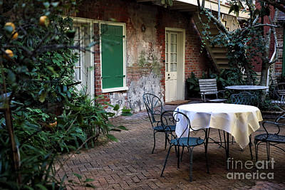Photograph - Creole Courtyard by John Rizzuto