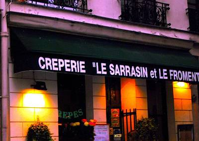 Creperie Photograph - Creperie by Margaret Glenn