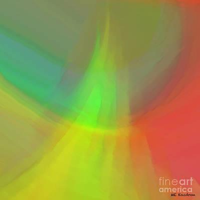 Digital Art - Crepuscle by ME Kozdron